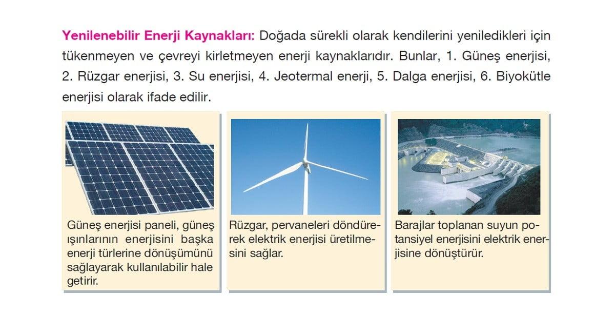 Enerji Kaynakları Konu Anlatım Sunusu - PPT