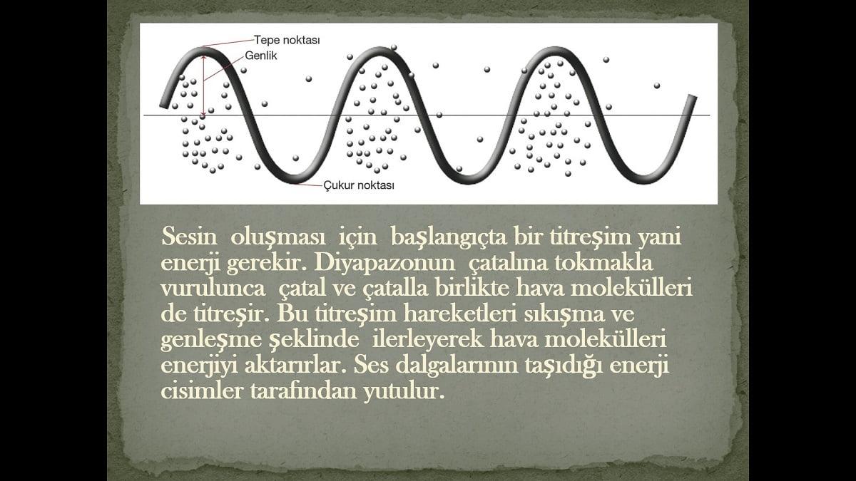 Ses Dalgaları Sunu - Konu Anlatım - PPT